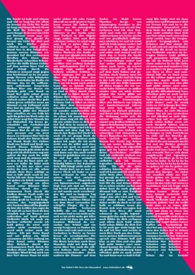 Poster, A2 135 g Papier, matt gestrichen