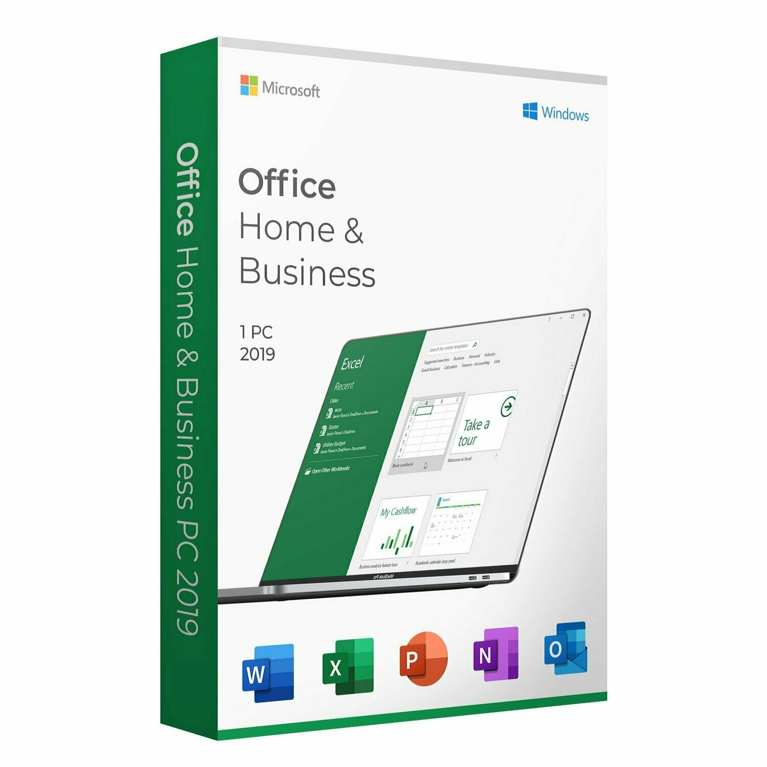 Microsoft Office Home and Business 2019 For Windows And Mac