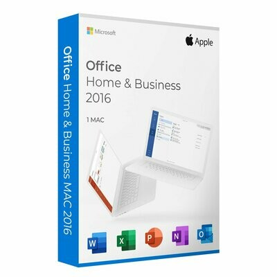 NEW Microsoft Office Home and Business 2016 MAC And PC