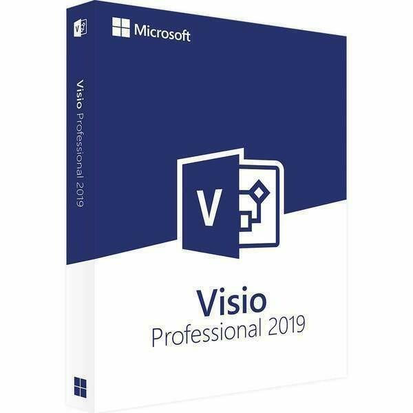 Microsoft Visio Professional 2019 For Windows PC