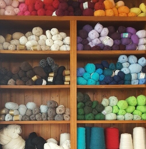 An updated online store, serving our yarn customers for over 20 years now. ONE $5.00 FLAT FEE POSTAGE for all AU orders. CLICK ON A YARN CATEGORY ICON ON THE TOP ROWS TO SEE THE FULL RANGES.