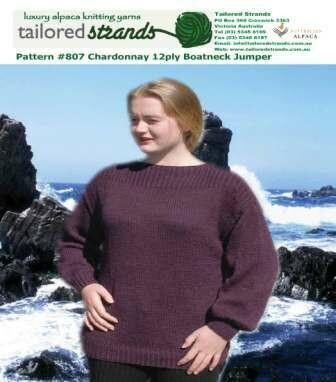 Tailored Strands Designer Patterns 12ply No.807