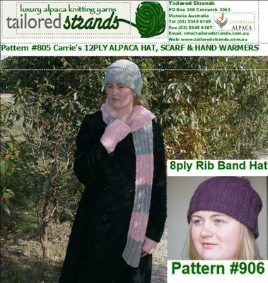 Tailored Strands Designer Patterns: No.805