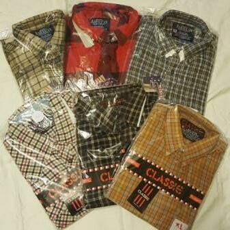 COVID19 Cotton fabric SHIRT SALE - NATURAL FIBRES - COTTON  End of Winter Special -Cotton fabric shirts now only AU$15.00 each.  One-off creations in solid colours or patterns. Normally $35.00 each.
