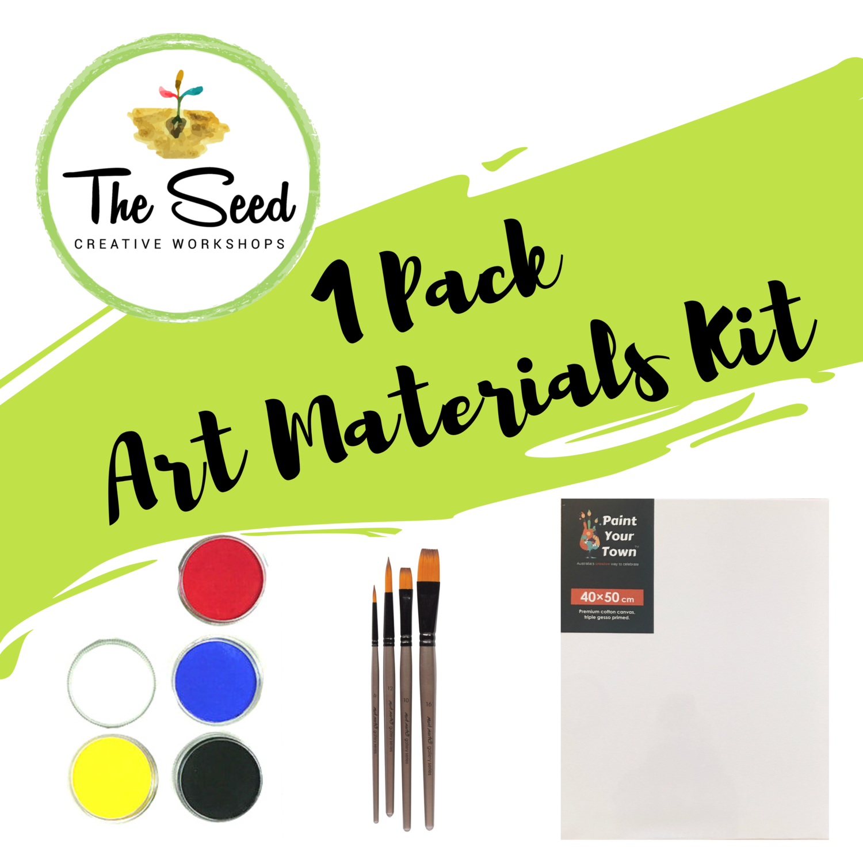 Paint Pack - 1 Canvas
