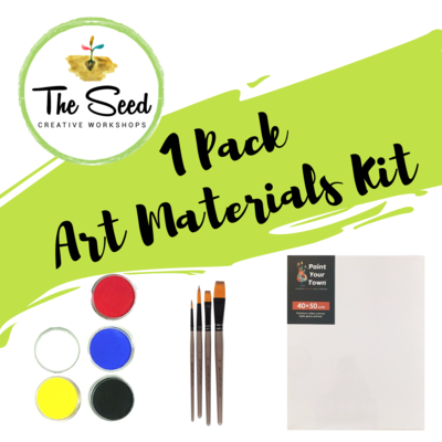 1 pack of art materials