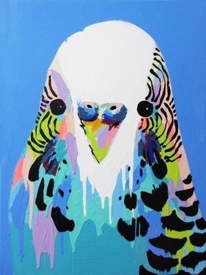 Digital painting class - Budgie