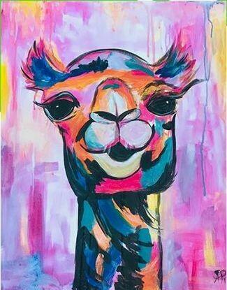 Digital painting class - Camel
