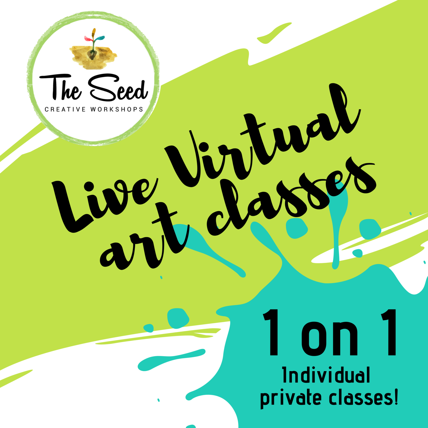 Virtual art class - 1 hour