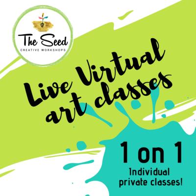 Virtual art class - 2 hour