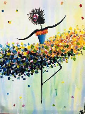 Live paint pARTy! - Dancer - Monday 22 June - 1.30pm