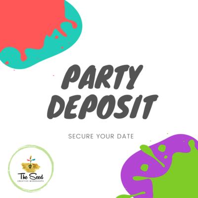pARTy deposit