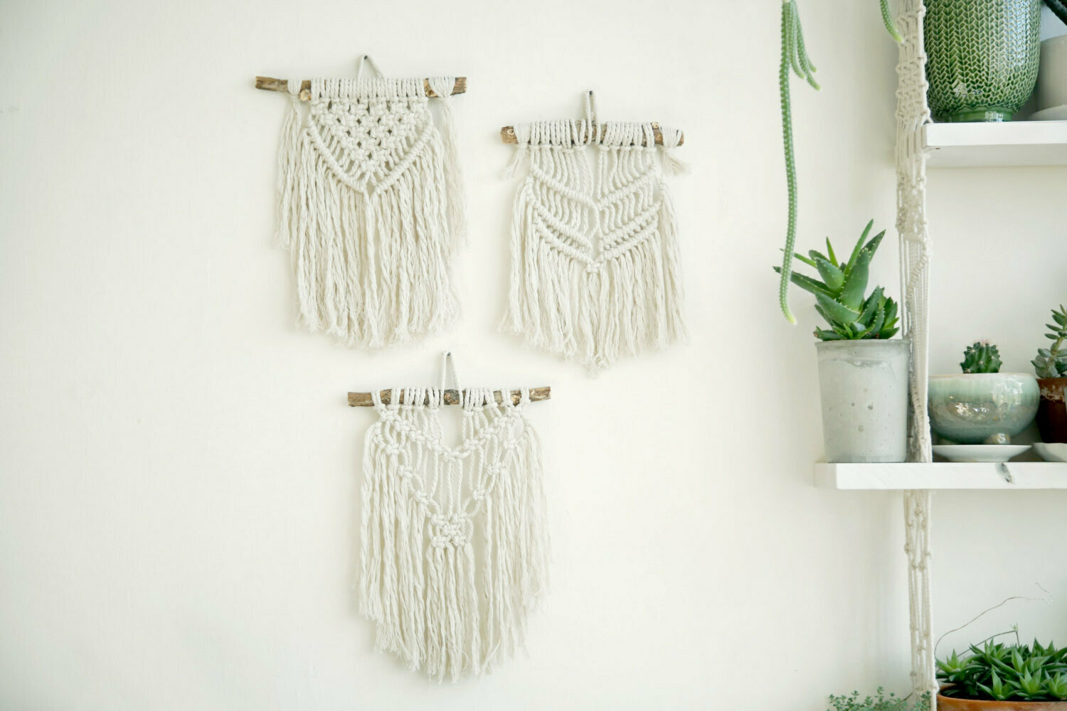 Small wall hanging macrame workshop - Friday 31 July 11am - 1pm