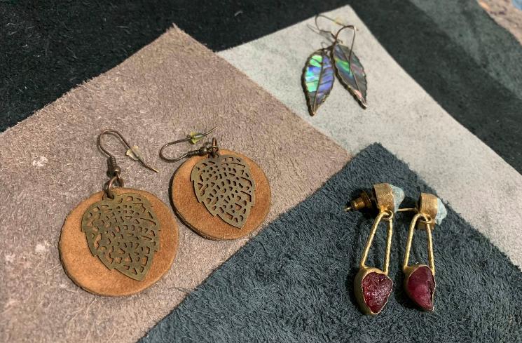 Leather & metal jewellery workshop - Sunday 26 July 2-4pm