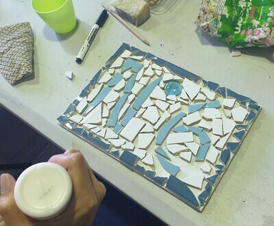 Mosaic house number Workshop (dates TBA)