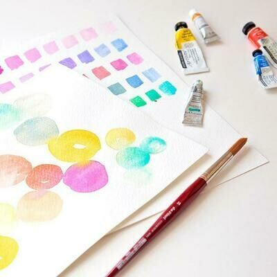 Watercolour Workshop - Wednesday 26 August, 1-3pm