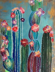 Digital painting class - Cactus