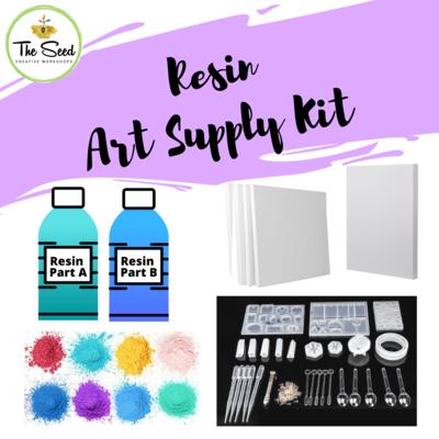 Resin Art Supply Kit
