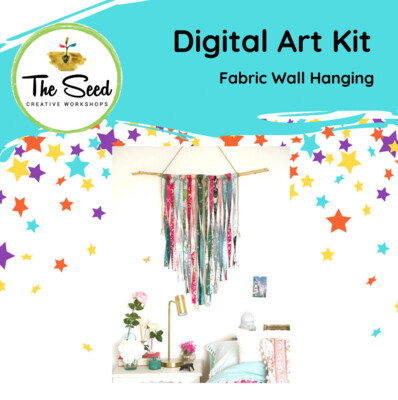 Fabric wall hanging - Kids/Teens digital art class
