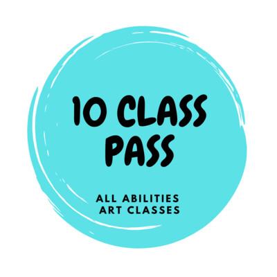 All Abilities Art Classes - 8 class pass