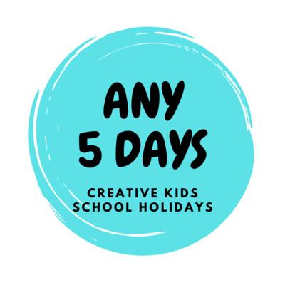 Summer School Holidays Creative Kids - 5 Days