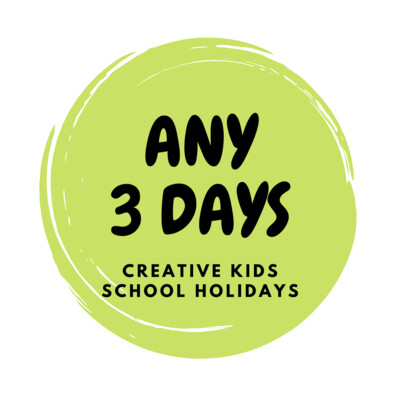 SOLD OUT JULY 2020 School Holidays Creative Kids - 3 Days