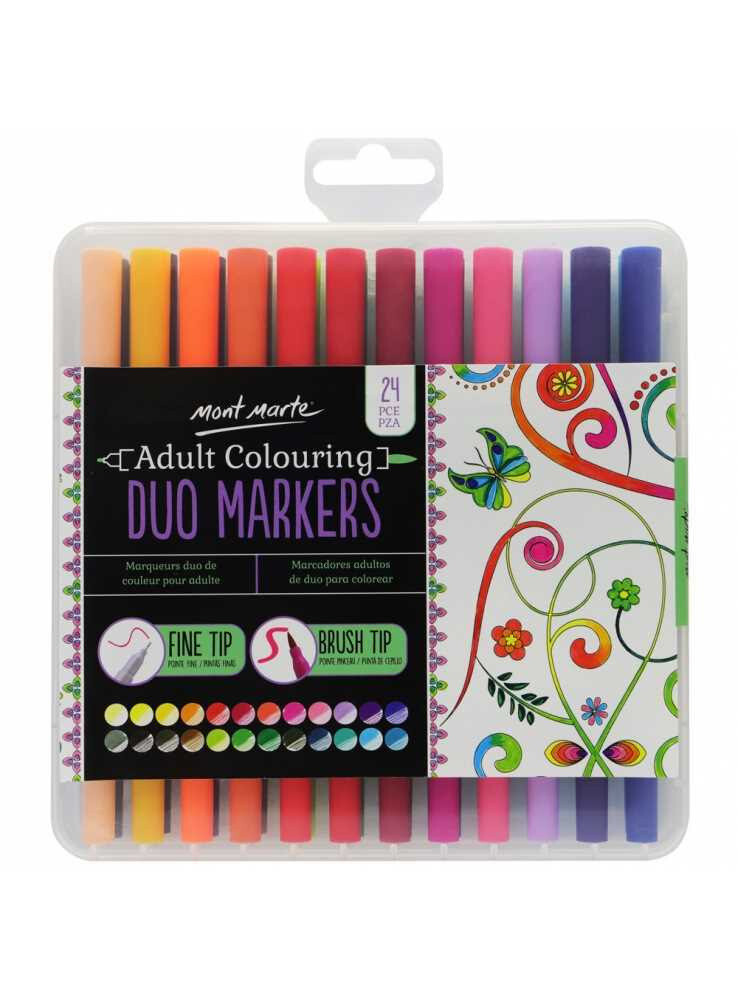 Mont Marte Duo Markers 24pk