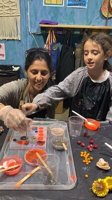 Parent & Child Resin jewellery workshop - Saturday 5 Sept, 11am - 12.30pm