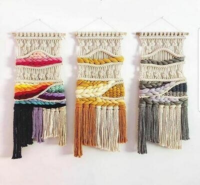 Macra weave workshop Wednesday 12 August, 1 - 3pm