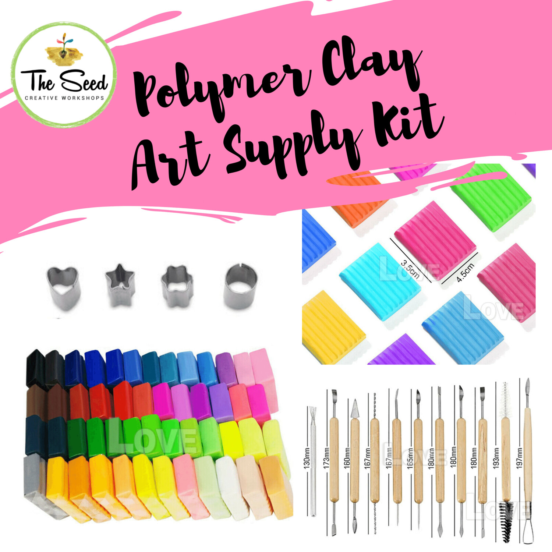 Polymer Clay Art Supply Kit