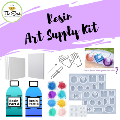 Resin Art Supply Kit