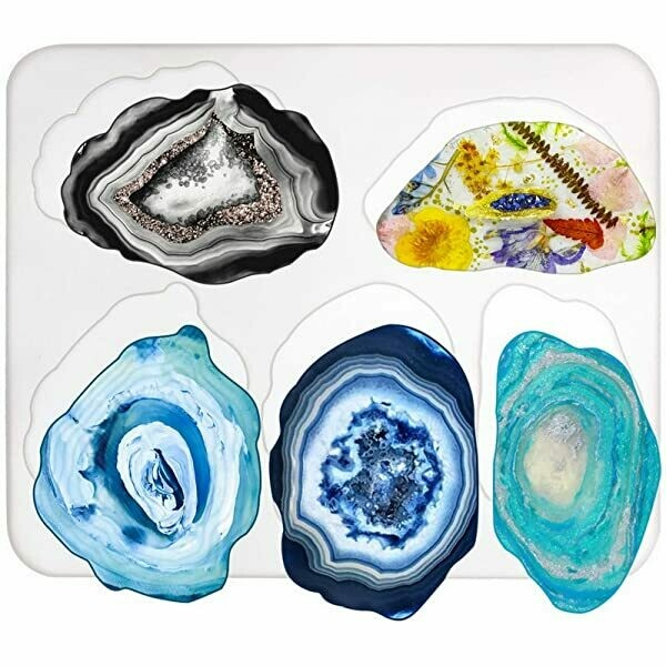 Resin Agate/Geode Coasters Workshop - Thursday 15 October, 6-8pm
