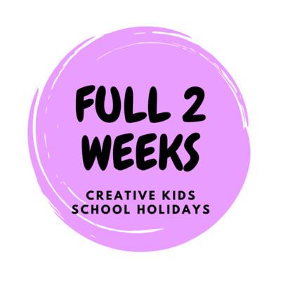 Summer School Holidays Creative Kids - FULL PROGRAM
