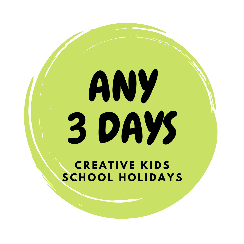 Autumn School Holidays Creative Kids - 3 Days