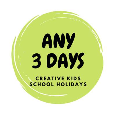 Summer School Holidays Creative Kids - 3 Days