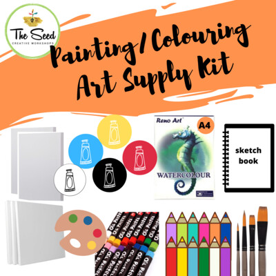 Painting/Colouring Art Supply Kit