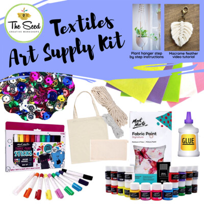 Textiles Art Supply Kit