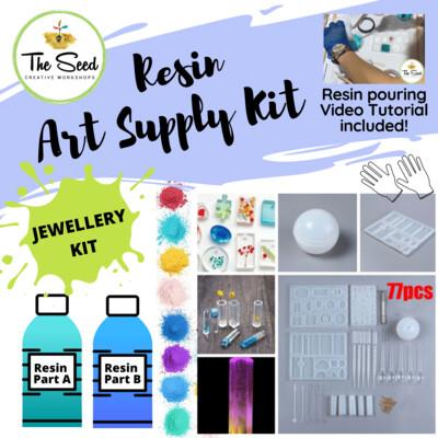 Resin Art Supply Kit - JEWELLERY