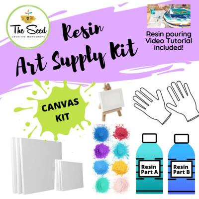 Resin Art Supply Kit - CANVAS