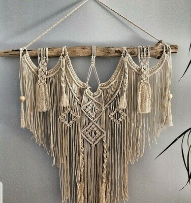Macrame Masterclass workshop Saturday 31 October, 11am - 3pm