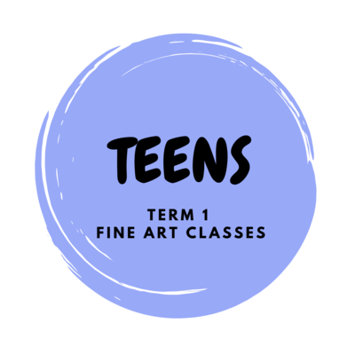 Teens Term 1 Fine Art Classes