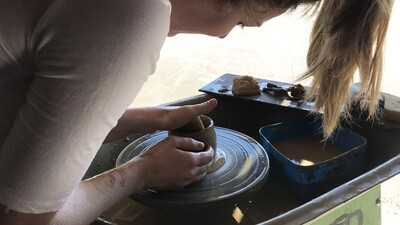 Intro to Pottery Wheel Workshop - 22nd April 6-8pm