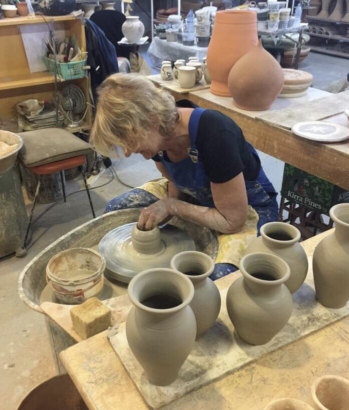 Friday Clay Play! Intro pottery classes for adults. 5th March 1pm (4 weeks)
