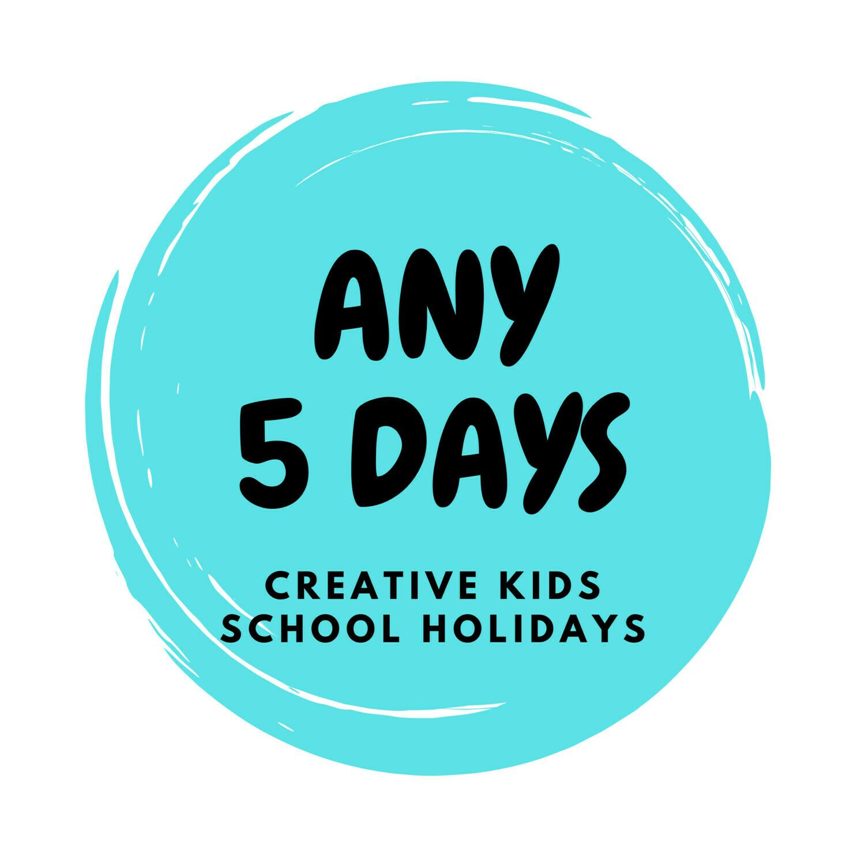 Spring School Holidays Creative Kids - 5 Days