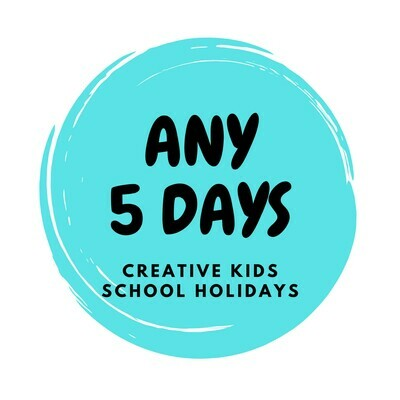 Autumn School Holidays Creative Kids - 5 Days