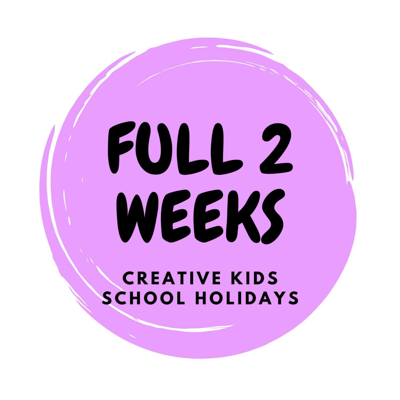 Autumn School Holidays Creative Kids - FULL PROGRAM