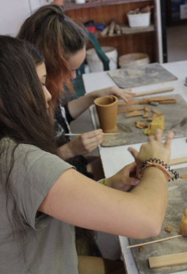 Hand-building pottery workshop 23rd April 2-4pm