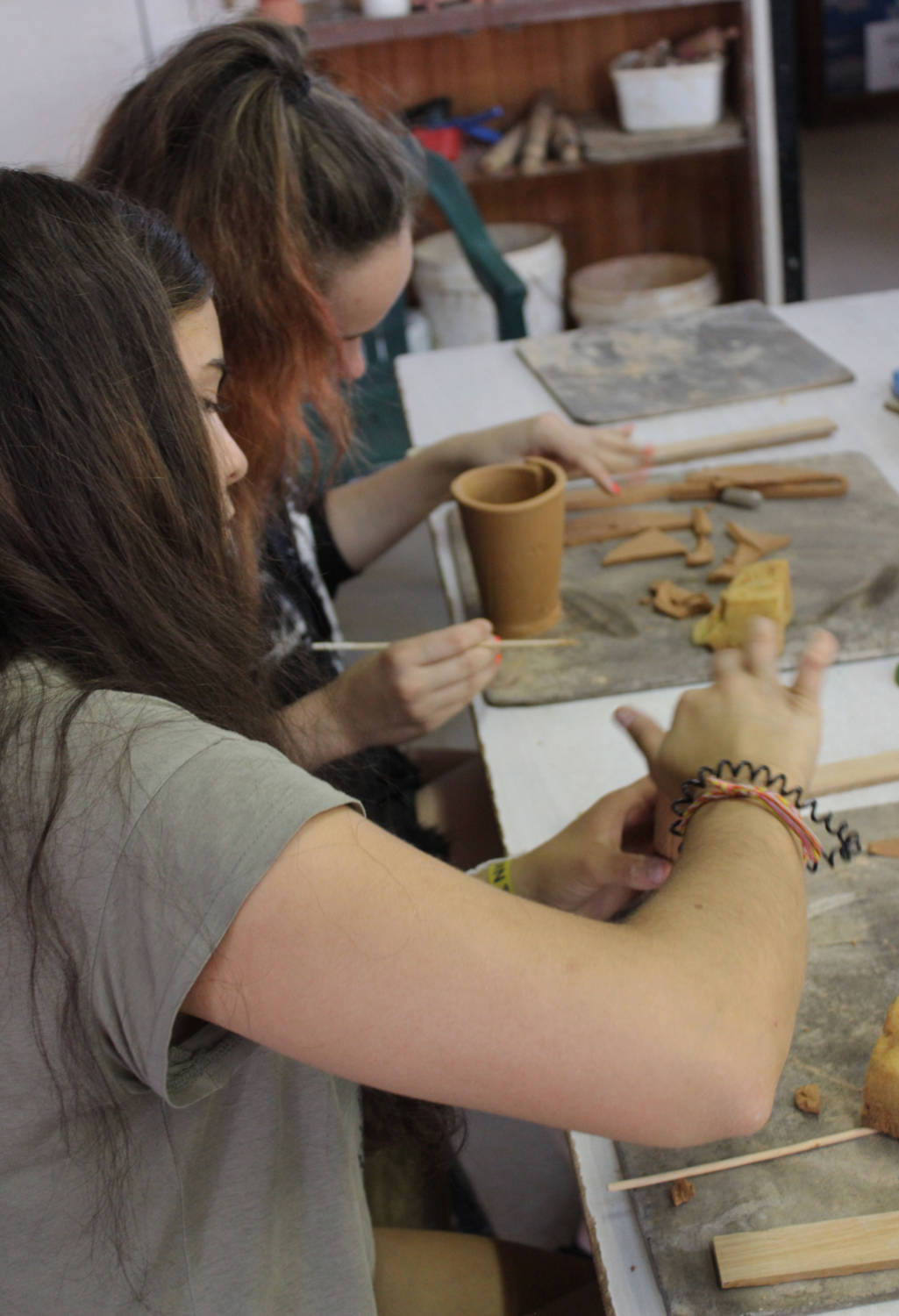 Hand-Building Pottery Workshop. 14th May 2-4pm