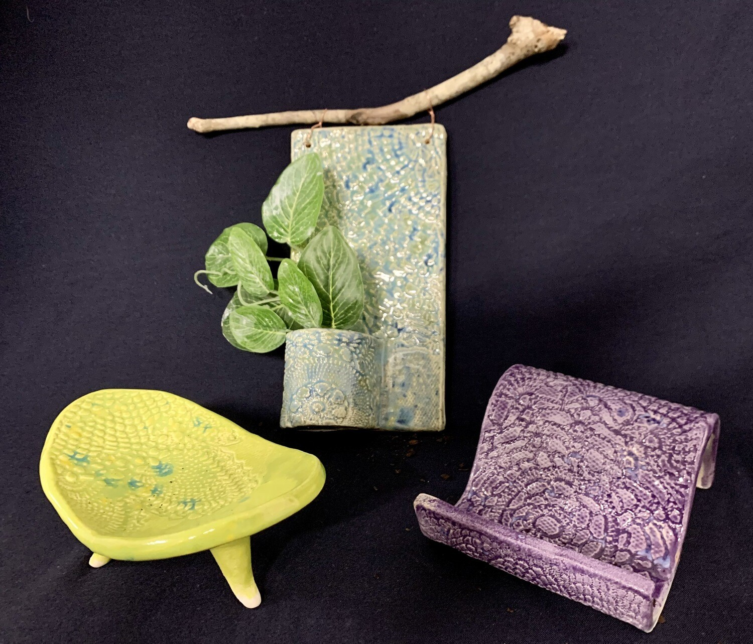 Slab & Texture Pottery Workshop. 1st May 2-4pm