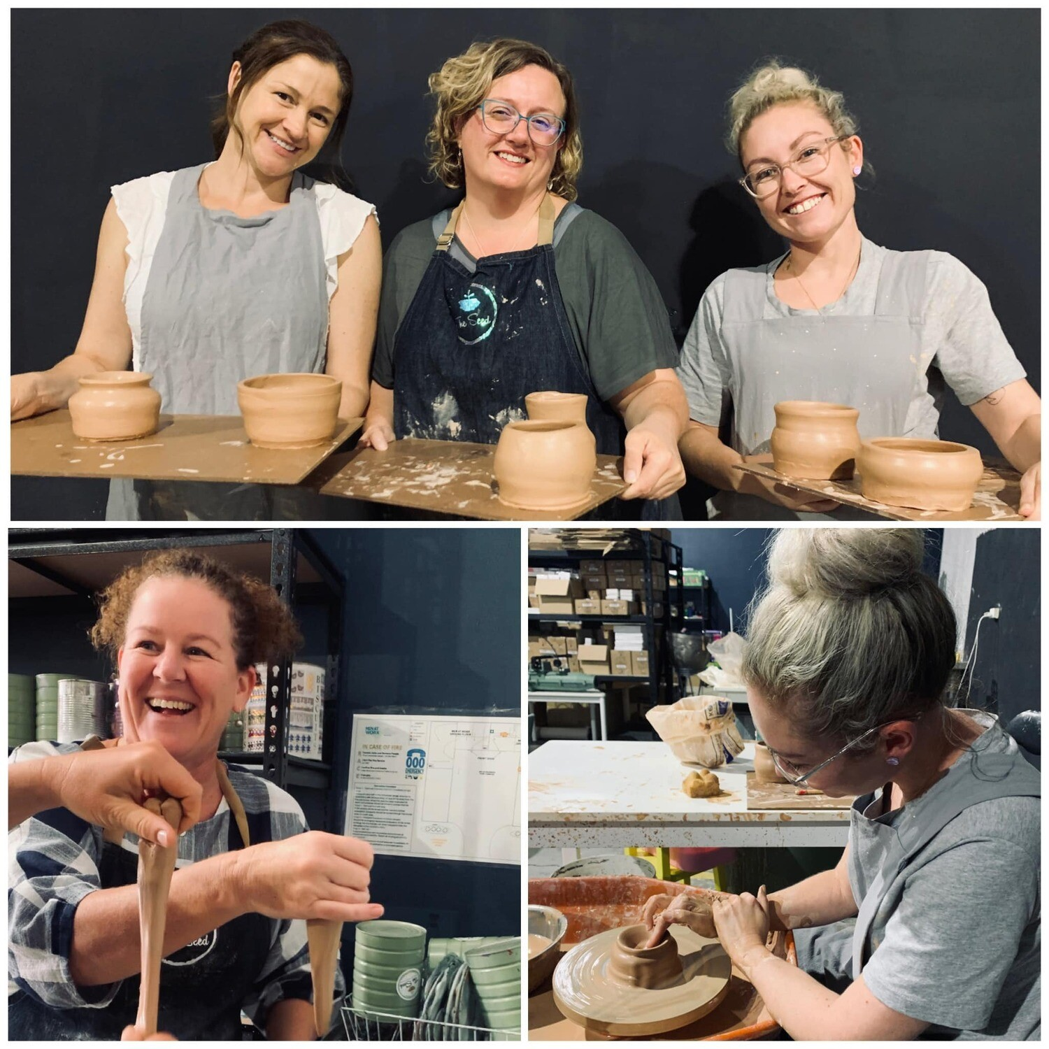 Creative Clay Club! 21st April 11:30-2:30 or 5:30-8:30pm